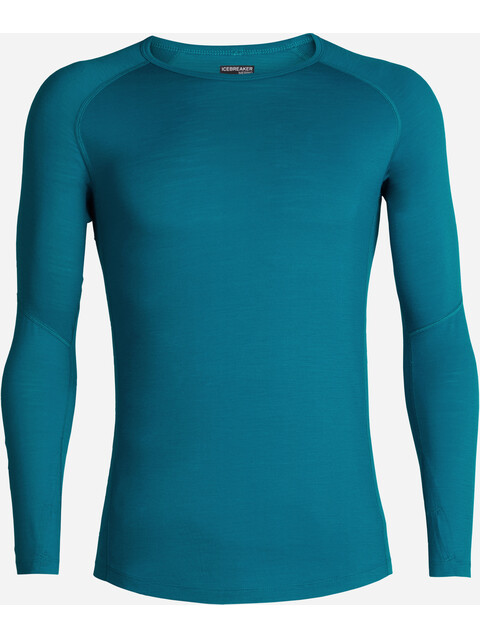 Icebreaker 150 Zone LS Crewe Shirt Men alpine-monsoon